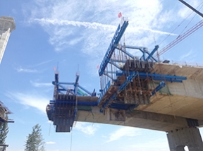 中建唐河特大桥项目